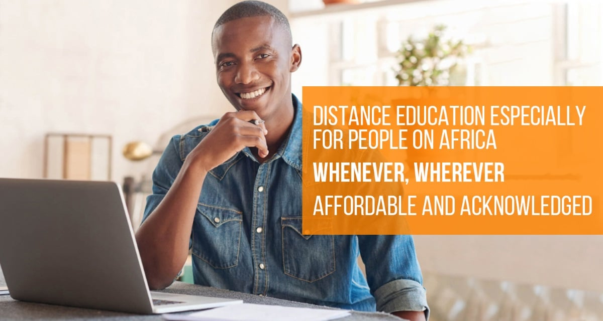 Distance education guide Africa