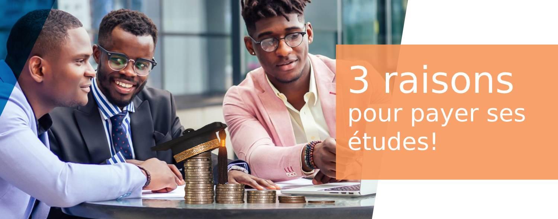 3 raisons pour payer pour l'éducation